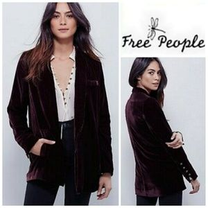 FREE PEOPLE Yesterday's Muse blazer